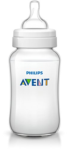 Philips AVENT, Set di 3 biberon, 330 ml, Bianco (Transparent)