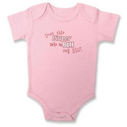 Message Bodysuit - Does This Diaper - 3-6 Months - 1