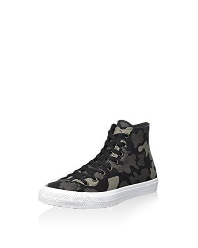 Converse Hightop Sneaker Chuck Taylor All Star II Reflective Camo schwarz