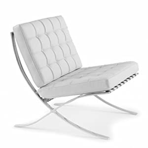 mies barcelona chair reproduction replica style leather