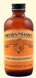 Nielsen-Massey Pure Orange Extract, 4 oz