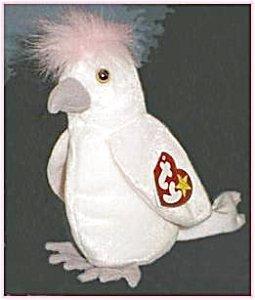 TY Beanie Baby - KUKU the Cockattoo Bird by Ty