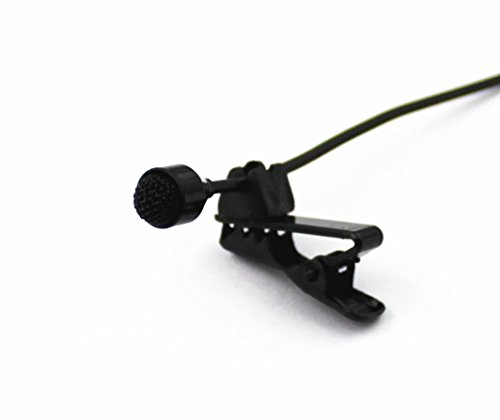 Pro JK® MIC-J 004 Lavalier Lapel External Microphone Designed For ZOOM TASCAM Recording Devices - Standard Stereo 35MM Connector