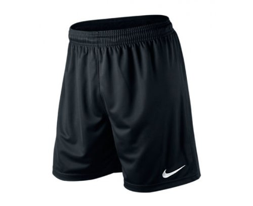 NIKE Men's Park Knit Short, Black, L