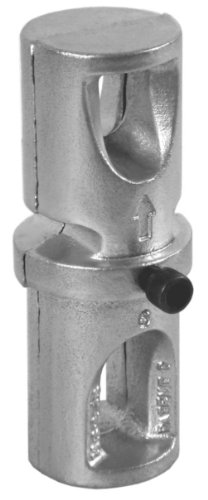 Designovations Inc. S300R SNAP'n SAFE Breakaway Round Ground Mount Coupler for 1/4 Inch Wall, 3 Inch Outside Diameter Sign Post Size