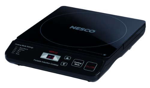Nesco PIC-14 Portable Induction Cooktop, 1500-Watt
