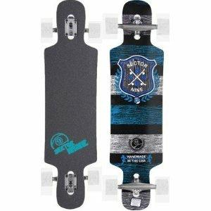 Sector 9 Platinum Series Sprocket Complete Longboard - 38.5in - Blue