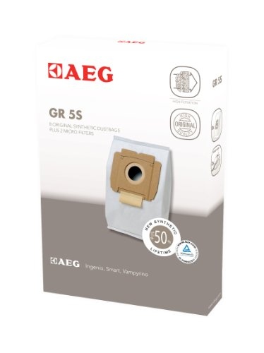 AEG GR 5 , 8 Staubsaugerbeutel + 2 Microfilter , AEG Electrolux Vampyrino, Smart , Ingenio, AEG AE34