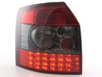 Led Taillights Audi A4 Avant Typ 8E Yr. 01-04 Black/Red