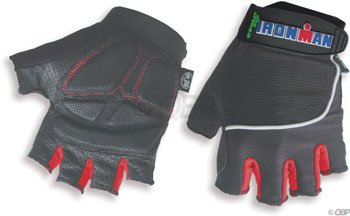 Ironman Elite Model Cycling Gloves (Black, Large)