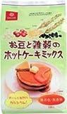 お豆と雑穀のホットケーキミックス(150gx2袋)大豆、小豆・大麦,もちきび,もちあわ,黒米,黒ごま入り