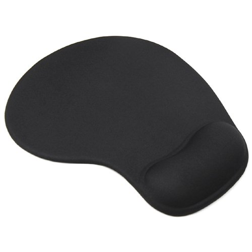 WMA Black Comfort Wrist Silicone Gel Rest Support Mat Mouse Mice Pad