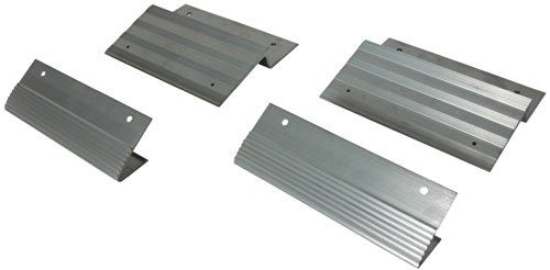 "Highland (1100500) Ramparts 12"" Aluminum Ramp Top And Bottom Kit - 4 Piece front-1070590"