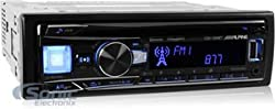 See CDE-164BT - Alpine In-Dash 1-DIN CD/MP3 Receiver with Bluetooth and iPhone/iPod Support Details