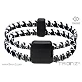 Trion:Z DUAL LOOP Ionic & Magnetic Bracelet - Houndstooth - Large 20cm