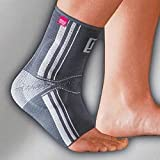 """Achimed® ACHILLES TENDON SUPPORT WITH ANATOMICALLY SHAPED SILICONE INSERT, Silver, III, 8 3/4""""-9 1/2"""""""