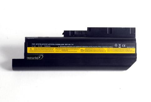 TechOrbits replacement battery for IBM ThinkPad T60 T61 R60 R61e R61i (14.1 standard screen and 15.4 widescreen) W500 R500 T500 9 room