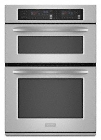 KitchenAid Architect Series II : KEMS378SSS 27 Microwave Combination Wall Oven - Stainless Steel