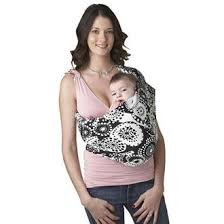 Hotslings Everyday Solstice Baby Pouch Sling Sateen Stretch Child Carrier, Size 1 (P)