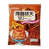 かんてんぱぱ こんにゃく寒天ゼリーの素 コーヒー 125g