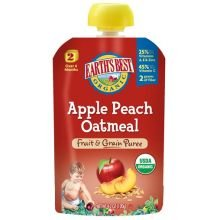 Earth'S Best Baby Foods Baby Puree Apple Peach Org 4.2 Oz (Pack Of 12) front-624287