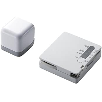 ELECOM スマートフォン用モバイルチャージャー 充電式リチウムイオン電池搭載 microUSB AC充電器付 ホワイト DE-RKJ2ACWH
