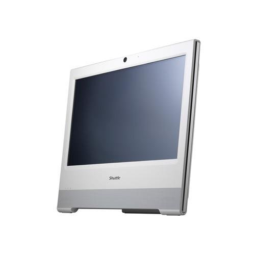 Shuttle X50 v3 15.6 inch All-in-One Barebone PC (Intel Atom D2700 2.13 GHz Processor, 1x 2.5 inch S-ATA HDD, 2x DDR3, Touch Screen, HDMI, 4-in-1 Card Reader, Built-in Webcam and Microphone)