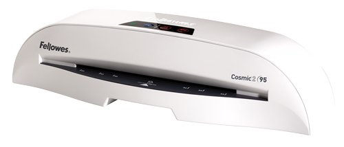Fellowes Laminator Cosmic 2 95, 9.5 Inch Laminating Machine, with Laminating Pouches Kit (5725601) (Laminating Machine Small compare prices)