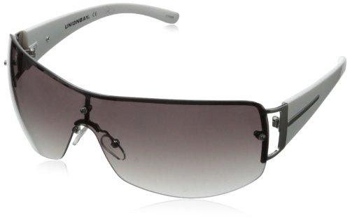 union-bay-womens-u899-shield-sunglassessilver160-mm