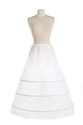 Diyouth A Line 3 Hoops Crinoline Slip for Bridal Dress