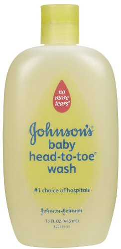 JOHNSON'S Head-to-Toe Baby Wash 15oz. - 1