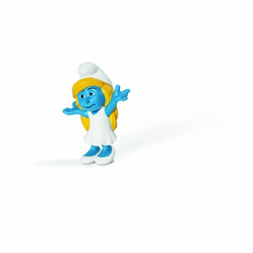 Schleich Smurfette Movie Toy Figure - 1
