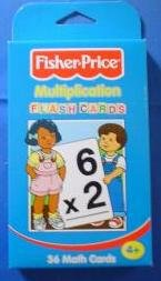 Fisher-Price Multiplication Flash Cards (Fisher Price Math Flash Cards compare prices)