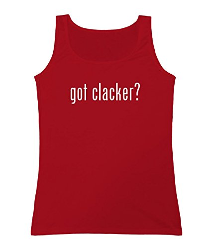 got clacker? - Women's Tank Top, Red, Medium (Clackers Red compare prices)