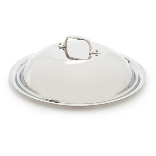 All-Clad D5 Brushed Stainless Steel French Skillet Domed Lid, 10.5 Inch (Domed Pot Lid compare prices)