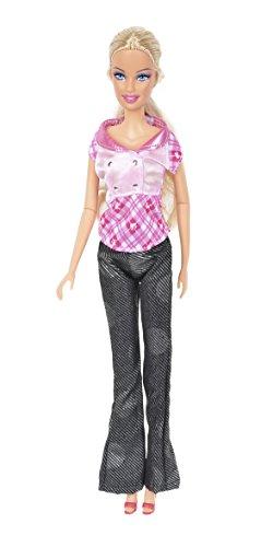 Banana Kong 2 Sets Doll's Casual Clothes Shirt + Pant