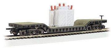 Bachmann Trains Center-depressed Flat Car with Transformer