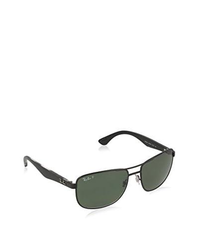 ZZ-Ray-Ban Gafas de Sol Mod. 3533  002/9A 57 Polarized (57 mm) Negro