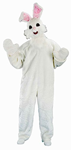 Bunny Costume Deluxe Easter Bunny Suit Rabbit Costume Off White Fur Rabbit Suit 57543
