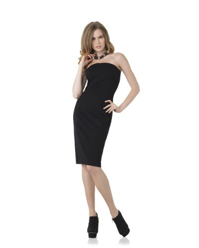 Signature Ponte Knit: Bandeau Dress by Spiegel
