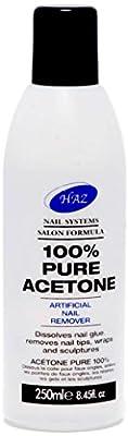 HAZ Pure Acetone Nail Polsih Remover 250 ml