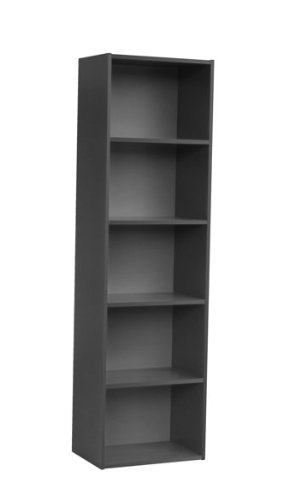 Home to Office Solutions Simplicity 5-Shelf Bookcase,