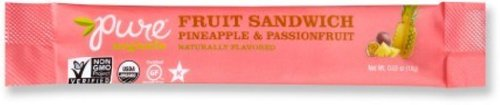 Pure Fruit Bar, Sandwich Pineapple And Passion Fruit, 20 Count