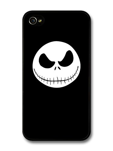 The Nightmare Before Christmas Halloween Tim Burton Jack Skellington custodia per iPhone 4 4S