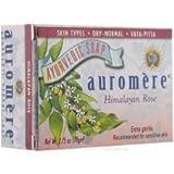 Auromere, Ayurvedic Soap, Himalayan Rose, 2.75 oz (78 g)