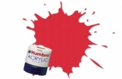 Humbrol Acrylic Paint, Carmine