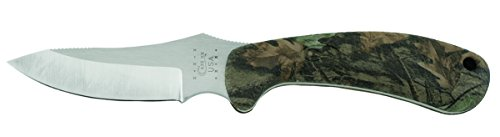 Case Knives 18338 Ridgeback Caper Fixed Blade Knife with Camouflage Zytel Handles