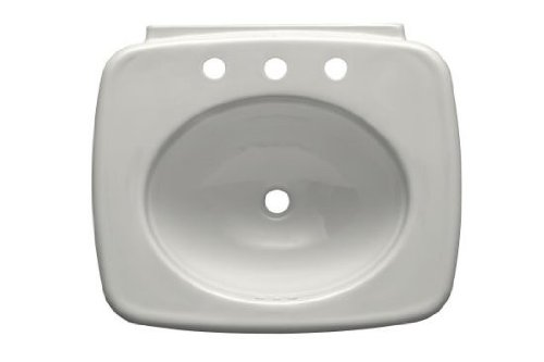 Best Buy! Kohler K-2340-8-0 Bancroft 24-Inch Lavatory Basin, White
