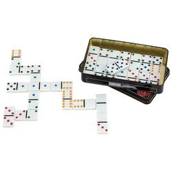"Double 6 Color Dot"" Dominoes"