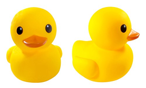 "8"" Jumbo Rubber Duck Bath Toy - Giant Ducks Duckie Baby Shower Birthday Party Favors"